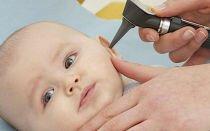 Симптомы и лечение отита у ребенка 2 лет