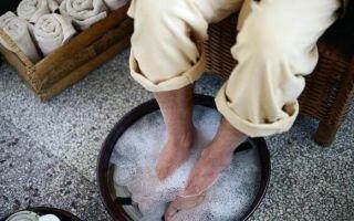 Прогревание ног при насморке взрослому и ребенку